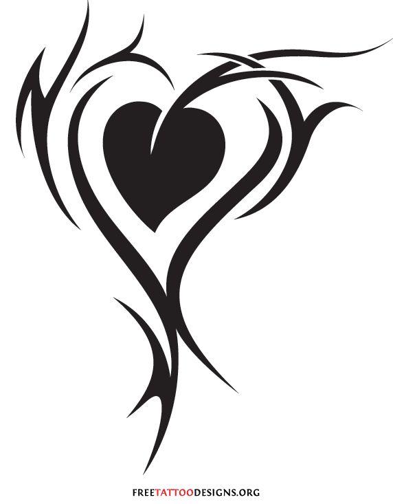 572x733 121 Best The Black Amp White Heart Images Black
