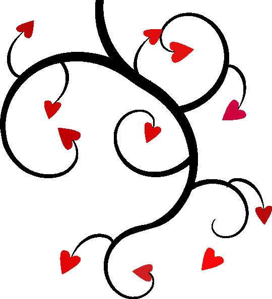 540x594 Black Love Template Clip Art