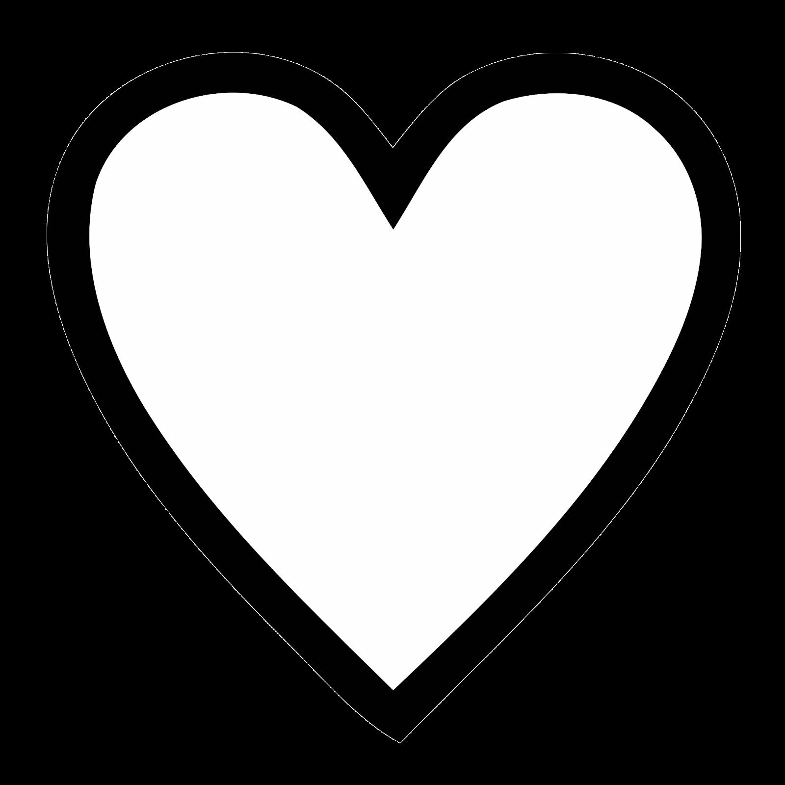 1600x1600 Drawn Heart Black And White