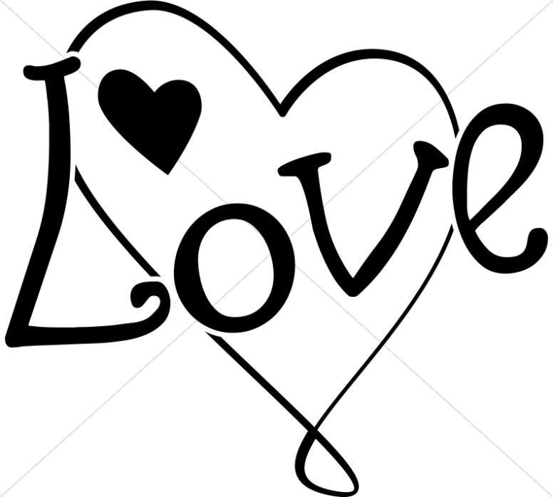 776x698 Fun Black And White Love Heart Valentines Day Clipart