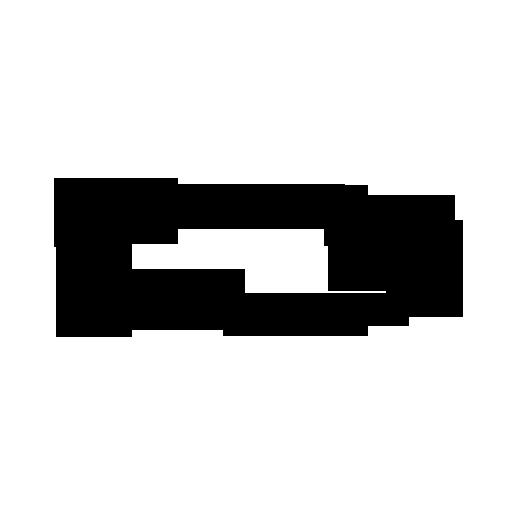 512x512 Simple Fish Outline Clipart