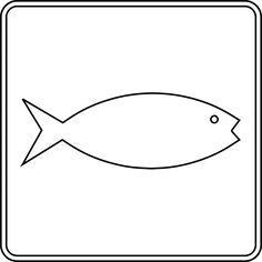 236x236 Free Animals Fish Printable Pages For Preschool Fish Coloring