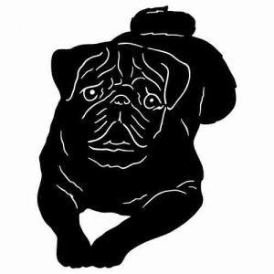 Black Pug Cliparts