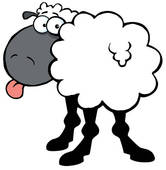 166x170 Black Sheep Clip Art