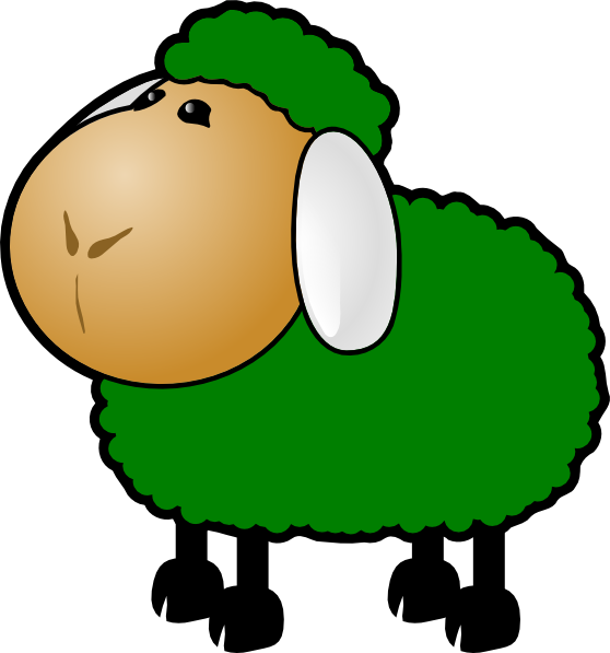 558x597 Baa Baa Black Sheep Clip Art