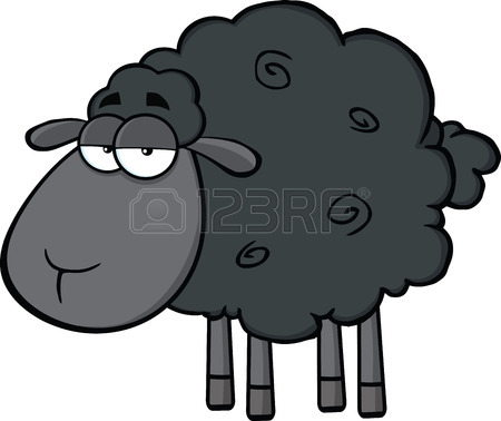 Black Sheep Cliparts