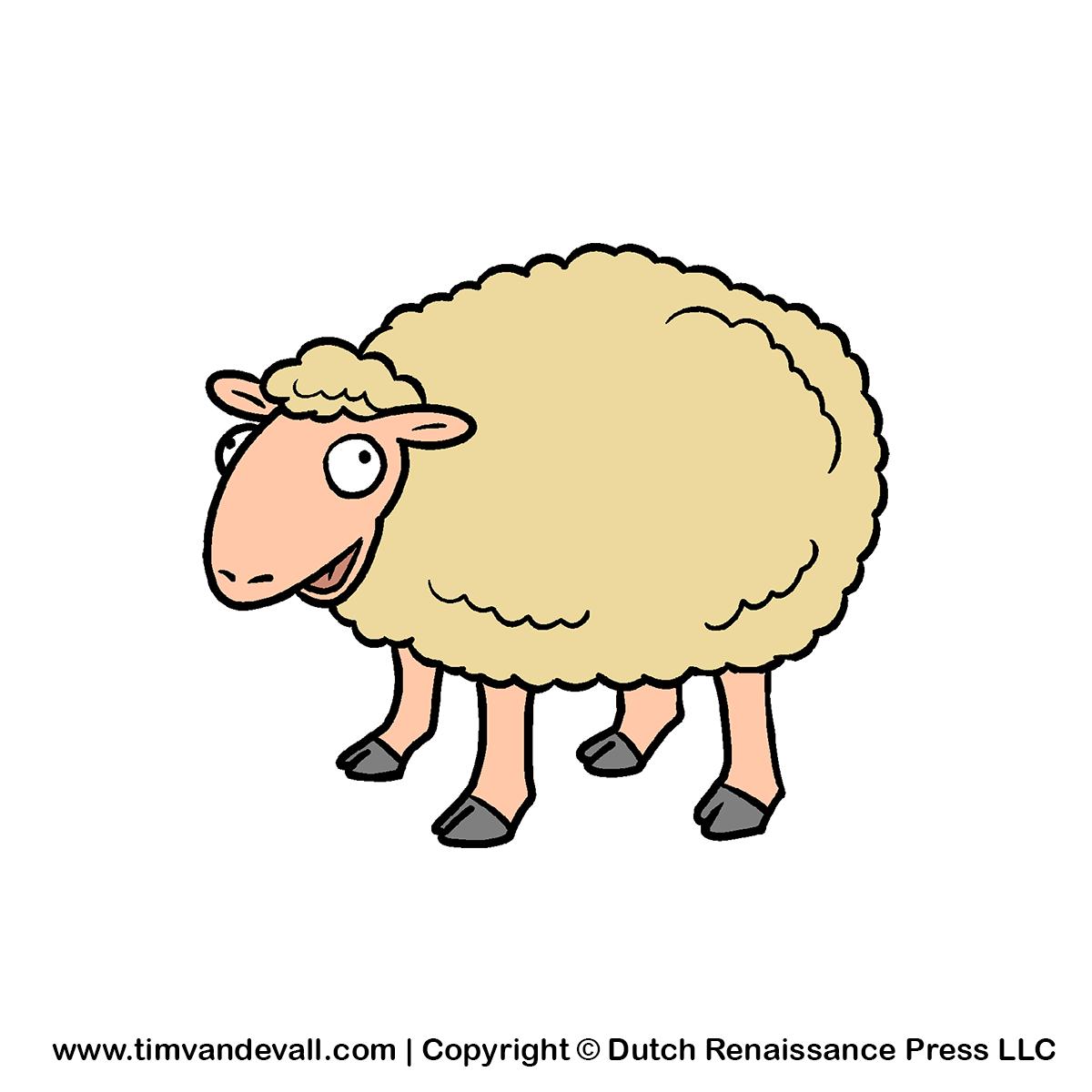 1200x1200 Sheep Clip Art 2