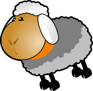 298x291 Sheep Lamb Clipart Black And White Free Clipart Images 5