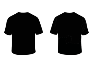 Black Shirt Cliparts