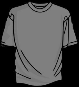 273x298 Gray Clipart Tshirt