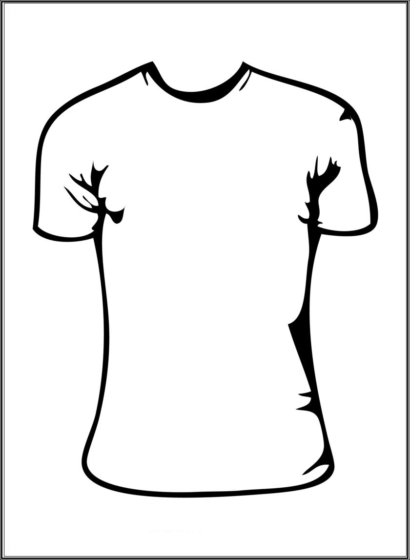 840x1147 T Shirt Shirt Black And White Clipart Kid