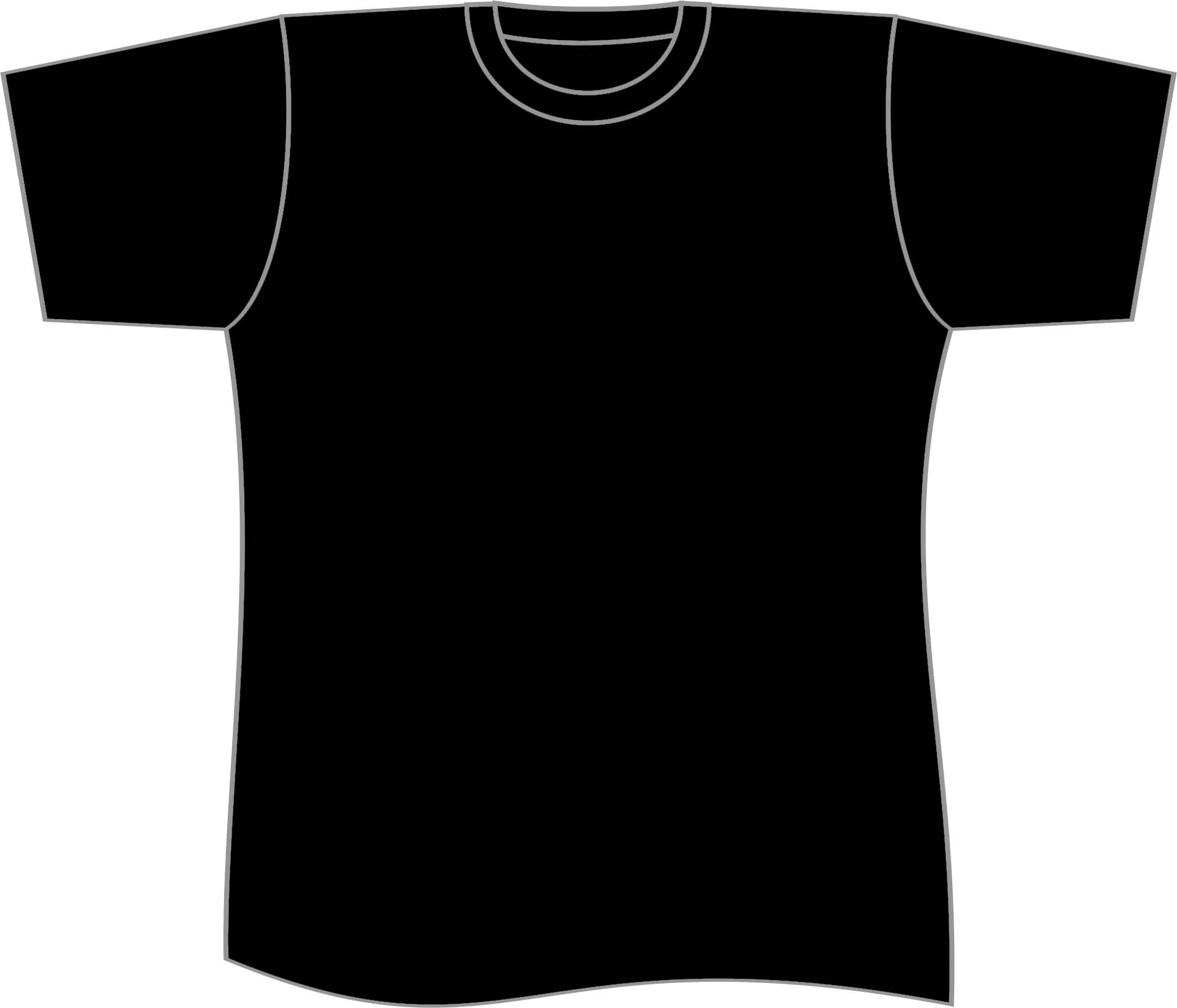 1886x1615 Black T Shirt Clipart