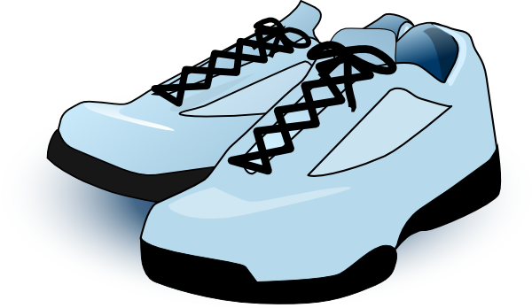 600x348 Tennis Shoes Clip Art Free Vector 4vector