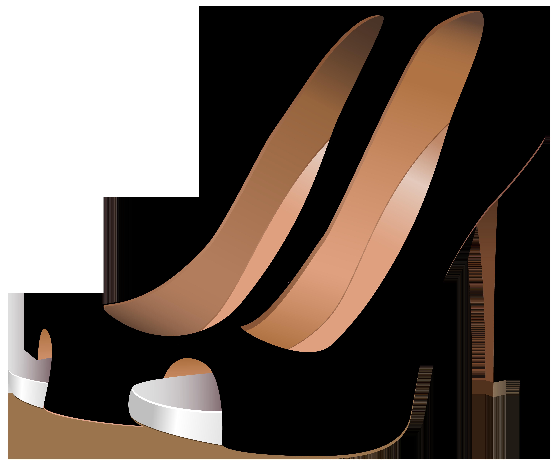 6000x5089 Black High Heels Png Clip Art