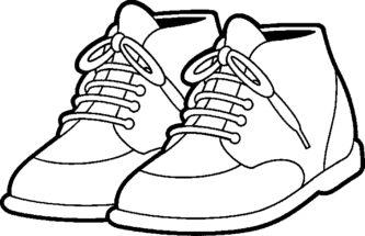 333x215 Black Shoes Clipart, Explore Pictures