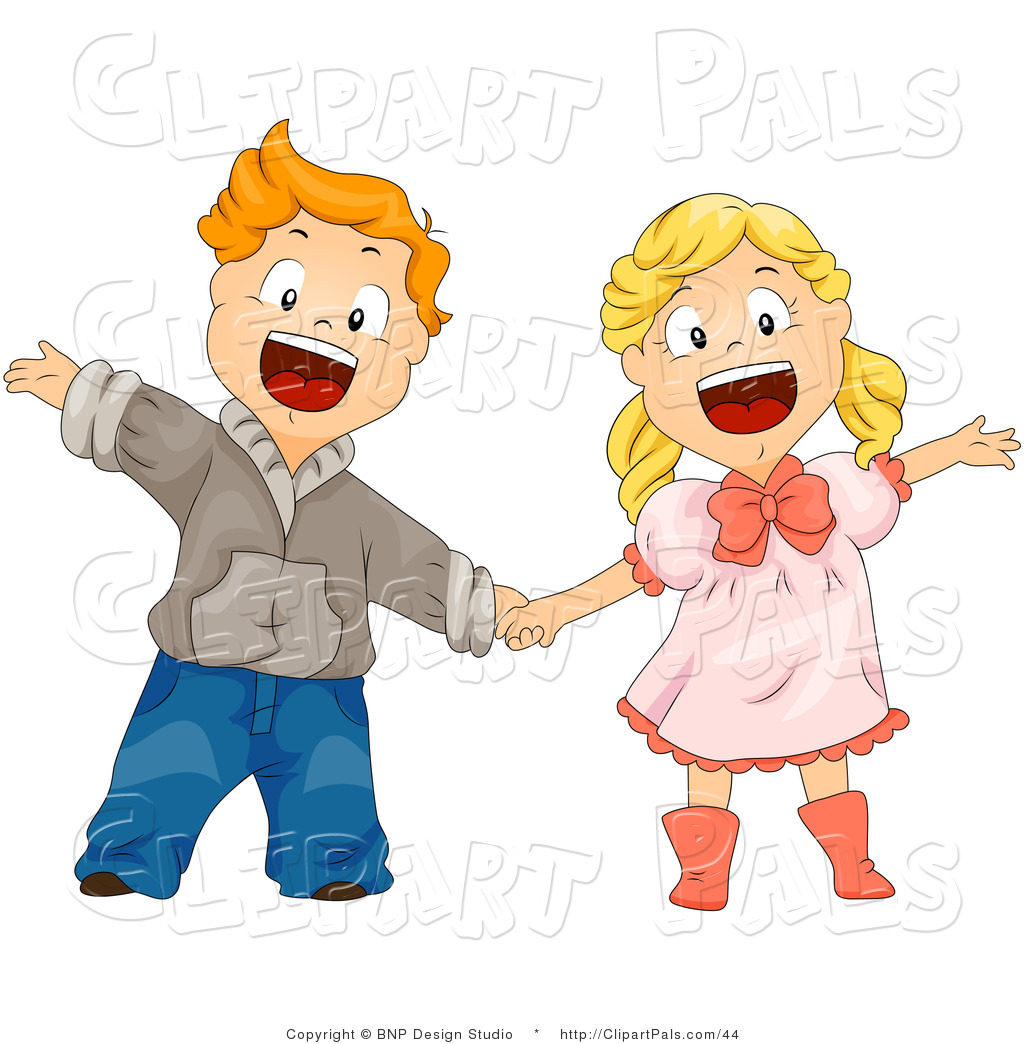 1024x1044 Boy And Girl Friends Clipart