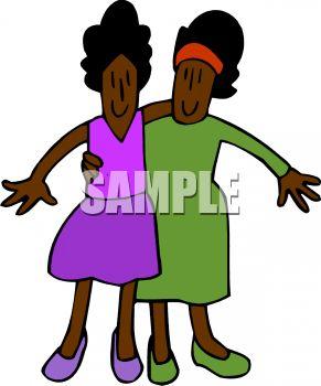 291x350 Ethnic Twin Sisters