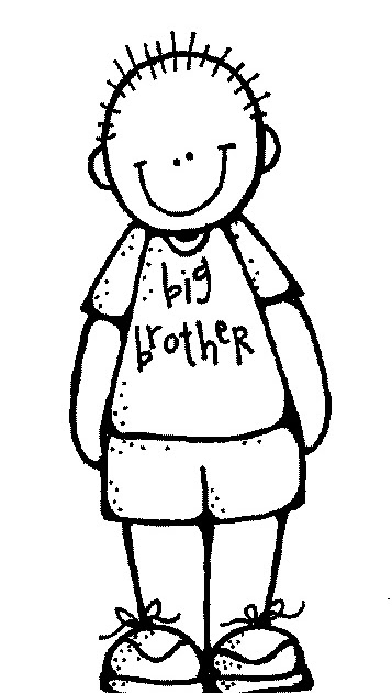 357x630 Older Brother Clipart