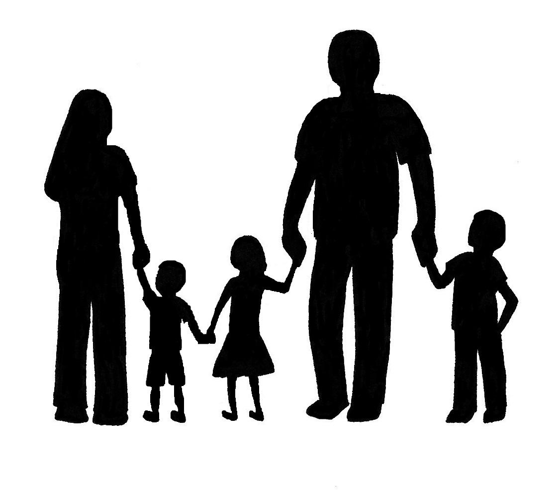 1126x987 Shadows clipart family