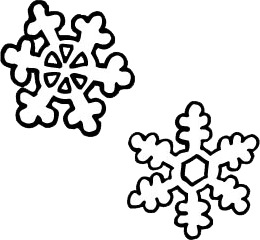 260x240 Snow Falling Clip Art Black And White Cliparts