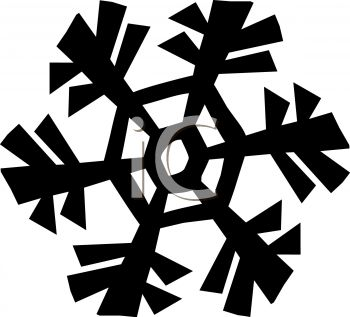 350x317 Snowflake Design Element