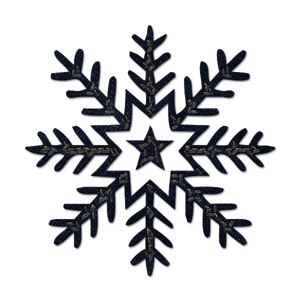 600x600 Snowflake Clipart High Resolution