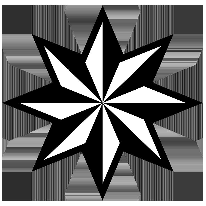 827x827 Star Clipart