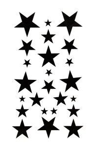 200x300 Stars Clipart Little Black