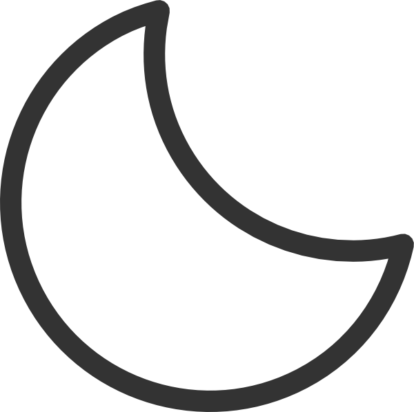 600x598 Black Stars And Moon Clipart Free Images