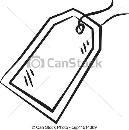 Black Tag Cliparts
