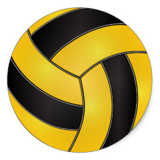 324x324 Golden Clipart Volleyball