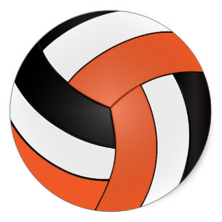 324x324 Orange Clipart Volleyball