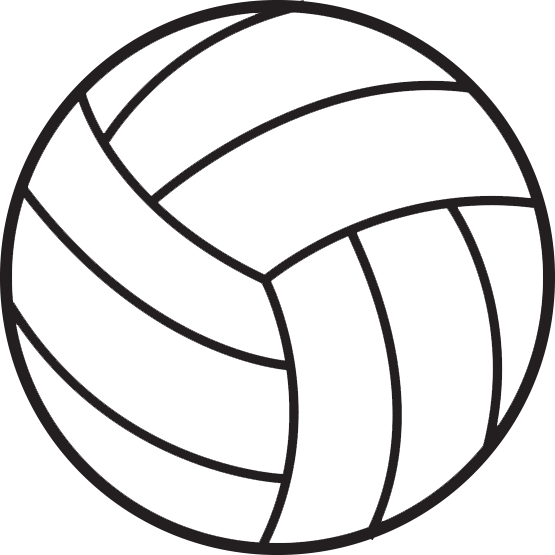 555x555 Volleyball Clipart