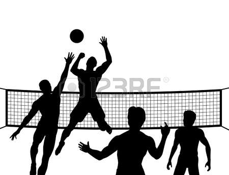 450x344 Volleyball Clipart Pictures