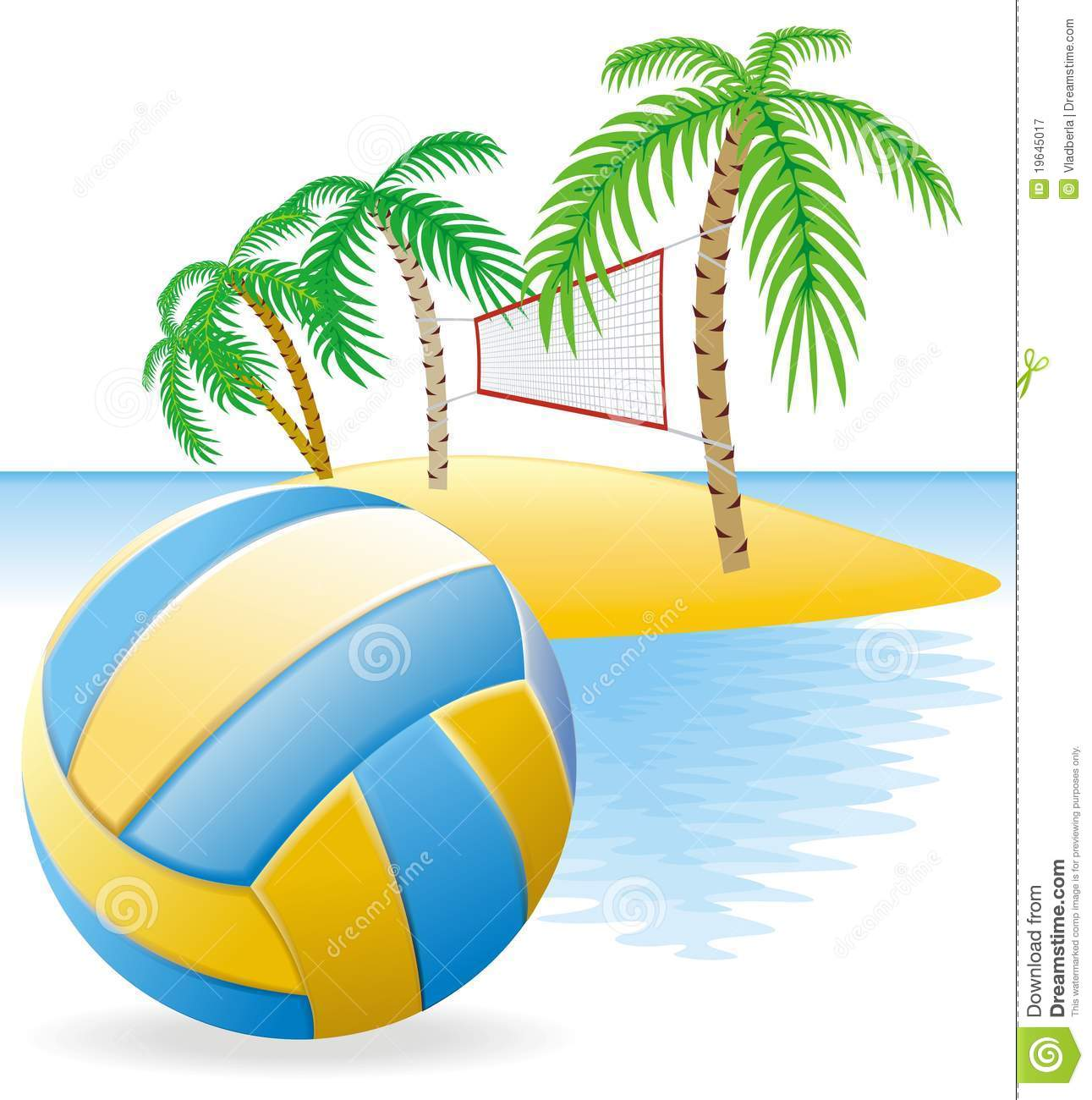 1291x1300 Beach Volleyball Clipart