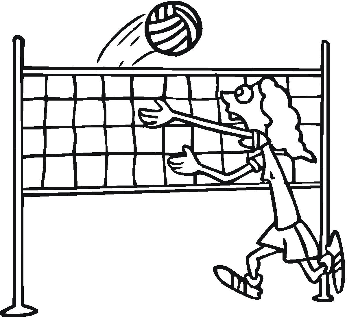 1200x1097 Black And White Vollyball Clipart