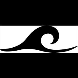 Black Wave Clipart | F...