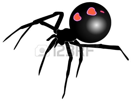 Black Widow Spider Clipart