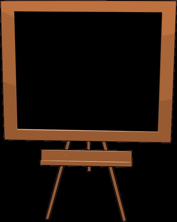 567x712 Clipart Blackboard