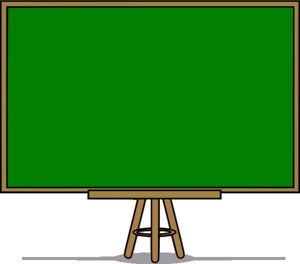 600x528 Blackboard Clipart Green Chalkboard