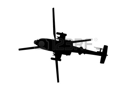 Blackhawk Helicopter Silhouette