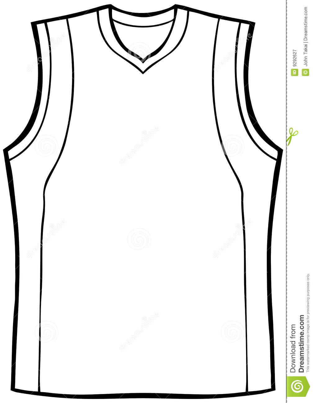 Blank Basketball Jersey Clipart Free Download Best Blank