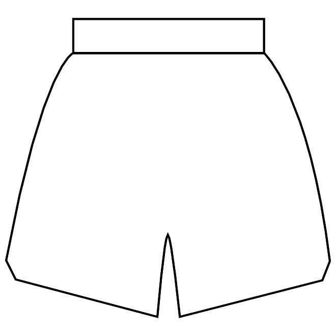 660x660 Basketball Jersey Side View Vector