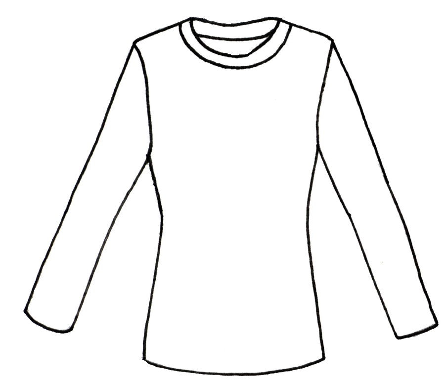 900x773 Shirt Colouring Template Plain White T Shirt Png Clipart Best.