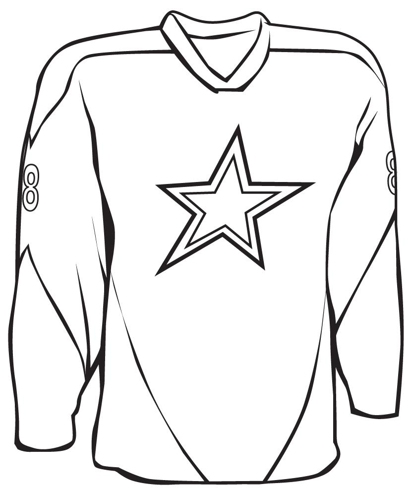 831x990 Sports Jerseys Clipart