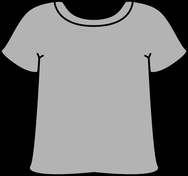 600x562 T Shirt Outline Clip Art