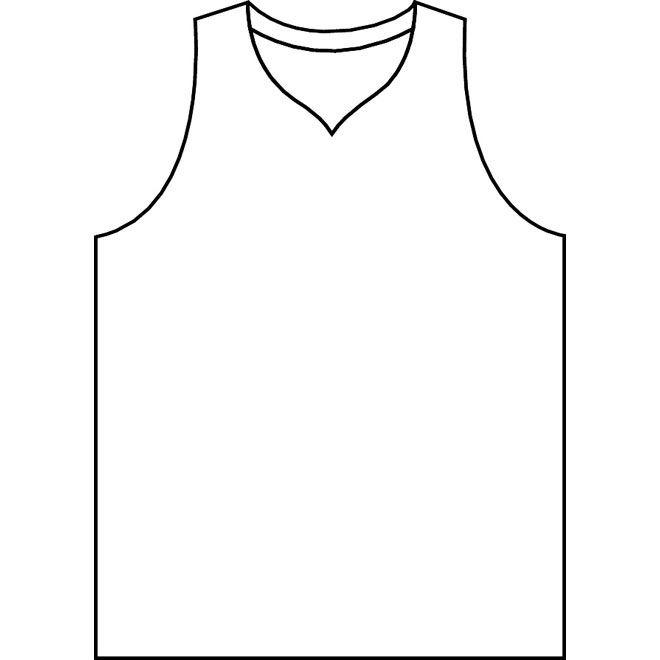 660x660 Basketball Jersey Clipart
