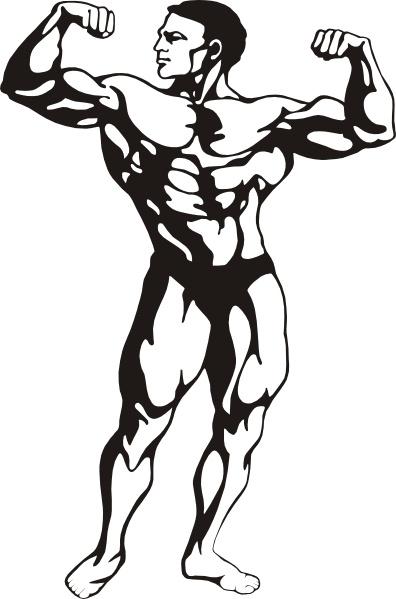 Blank Body Clipart