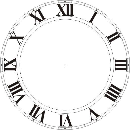 Blank Clock Clipart