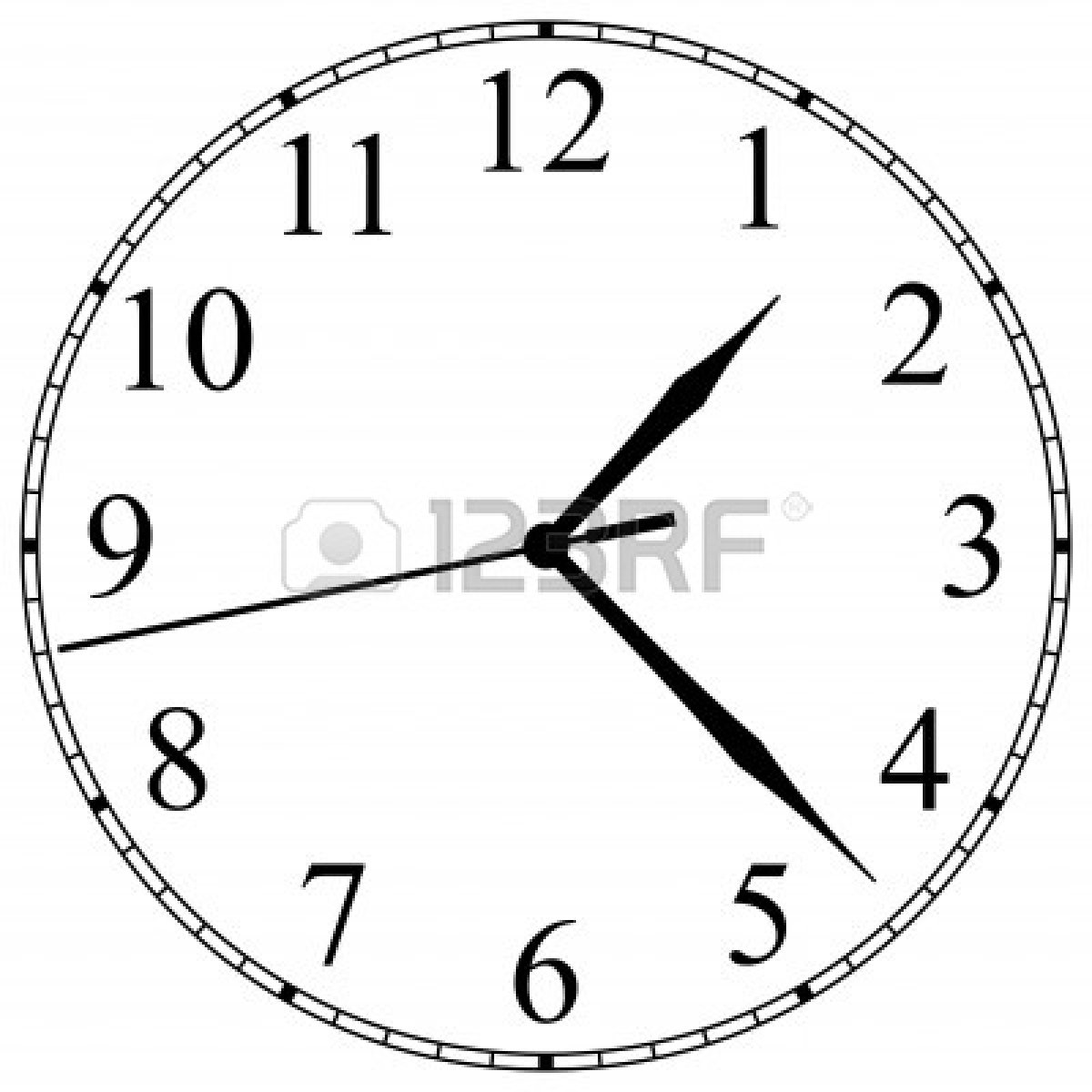 Blank Clock Clipart | Free download on ClipArtMag
